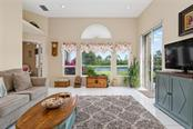 Water view from the family room - Single Family Home for sale at 886 Macaw Cir, Venice, FL 34285 - MLS Number is N6111692