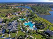 Aerial View of Second Pool Area - Villa for sale at 11433 Okaloosa Dr, Venice, FL 34293 - MLS Number is N6113314