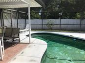 Pool is very clear with no leaks but will need to be resurfaced - Single Family Home for sale at 428 Briarwood Rd, Venice, FL 34293 - MLS Number is N6114917
