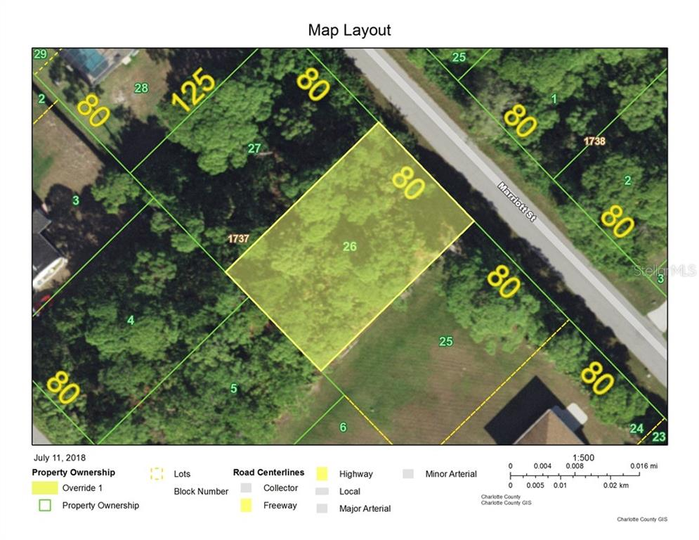 Vacant Land for sale at 5161 Marriott St, Port Charlotte, FL 33981 - MLS Number is D6101367