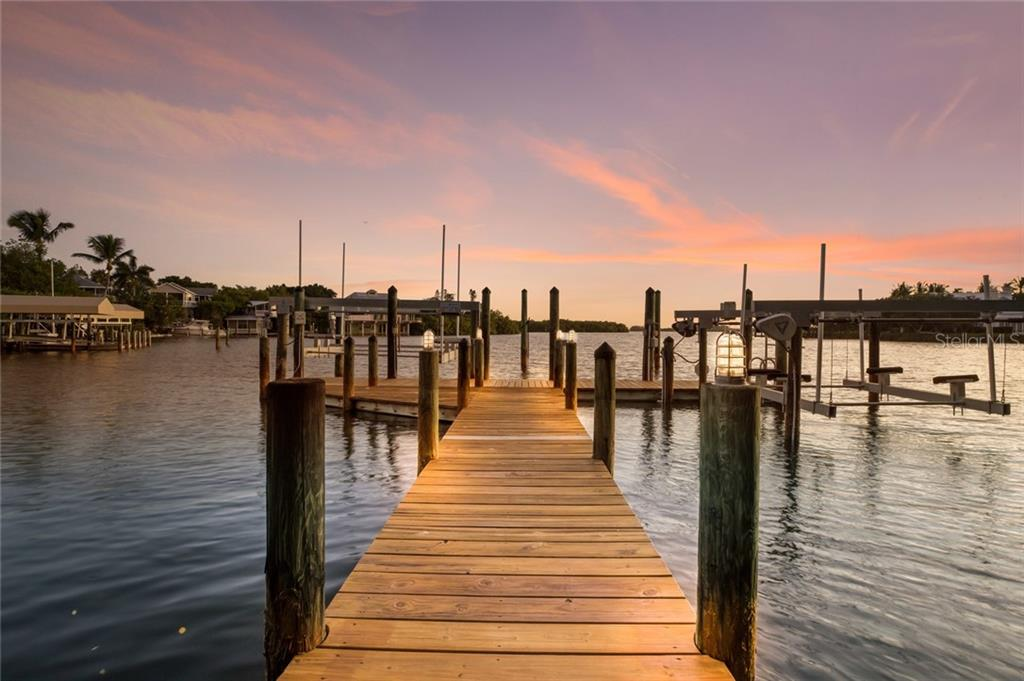 Sunrise at the dock - Single Family Home for sale at 1600 E Railroad Ave, Boca Grande, FL 33921 - MLS Number is D6108744