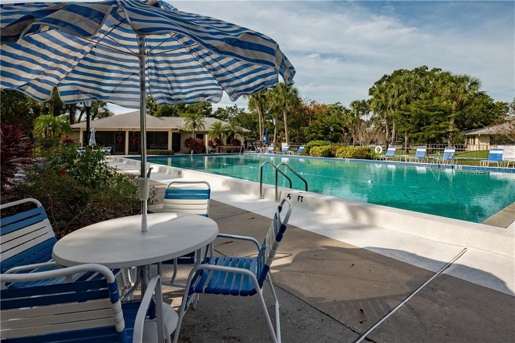 Community Pool - Condo for sale at 7070 Fairway Bend Ln #169, Sarasota, FL 34243 - MLS Number is W7807848