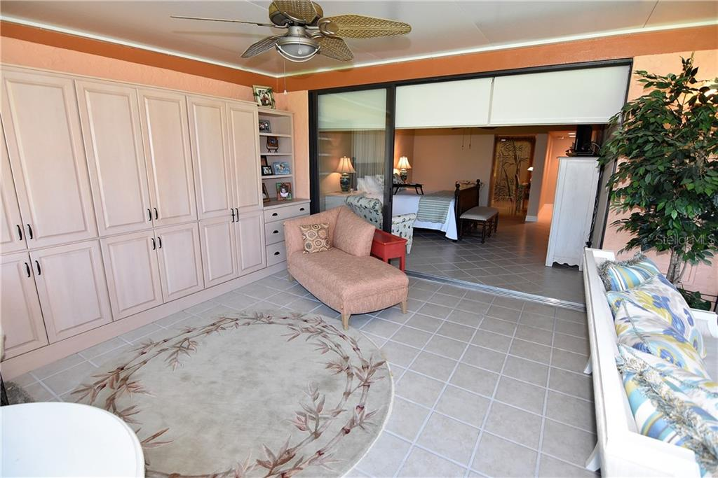 Lanai can be open to the Master Bedroom - Condo for sale at 3210 Southshore Dr #11a, Punta Gorda, FL 33955 - MLS Number is C7402449