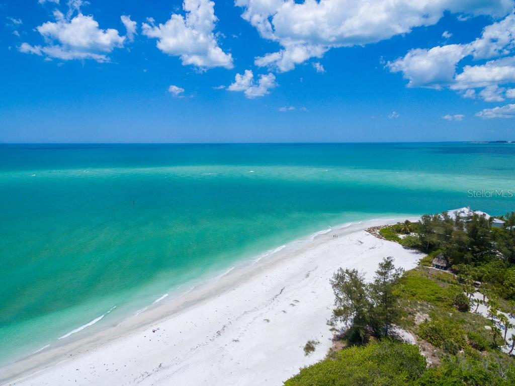 With approx 900ft of private beach - Condo for sale at 20 Whispering Sands Dr #301, Sarasota, FL 34242 - MLS Number is A4190302