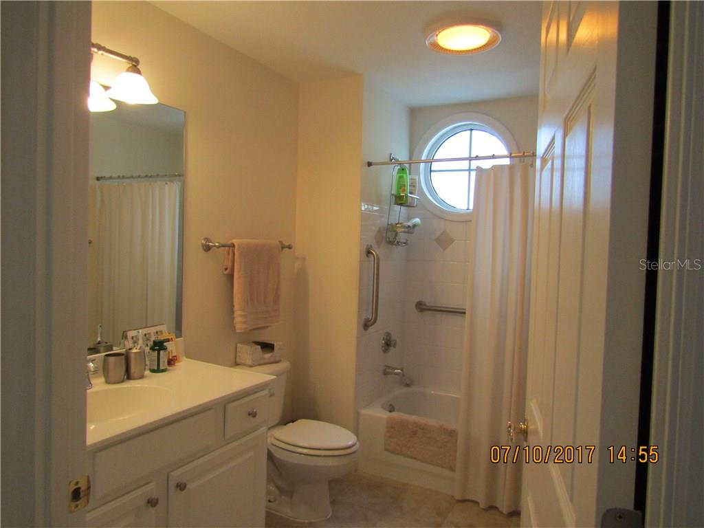 Guest Bathroom - Condo for sale at 750 N Tamiami Trl #1108, Sarasota, FL 34236 - MLS Number is A4190640