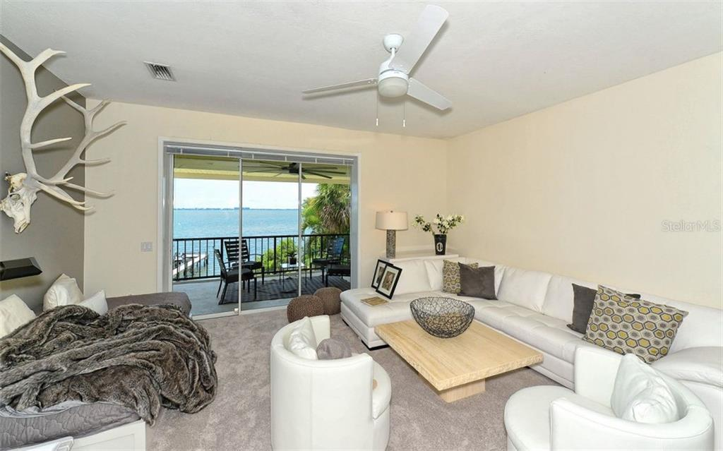 Guest room w/balcony or second floor living room. - Single Family Home for sale at 2145 Alameda Ave, Sarasota, FL 34234 - MLS Number is A4414337