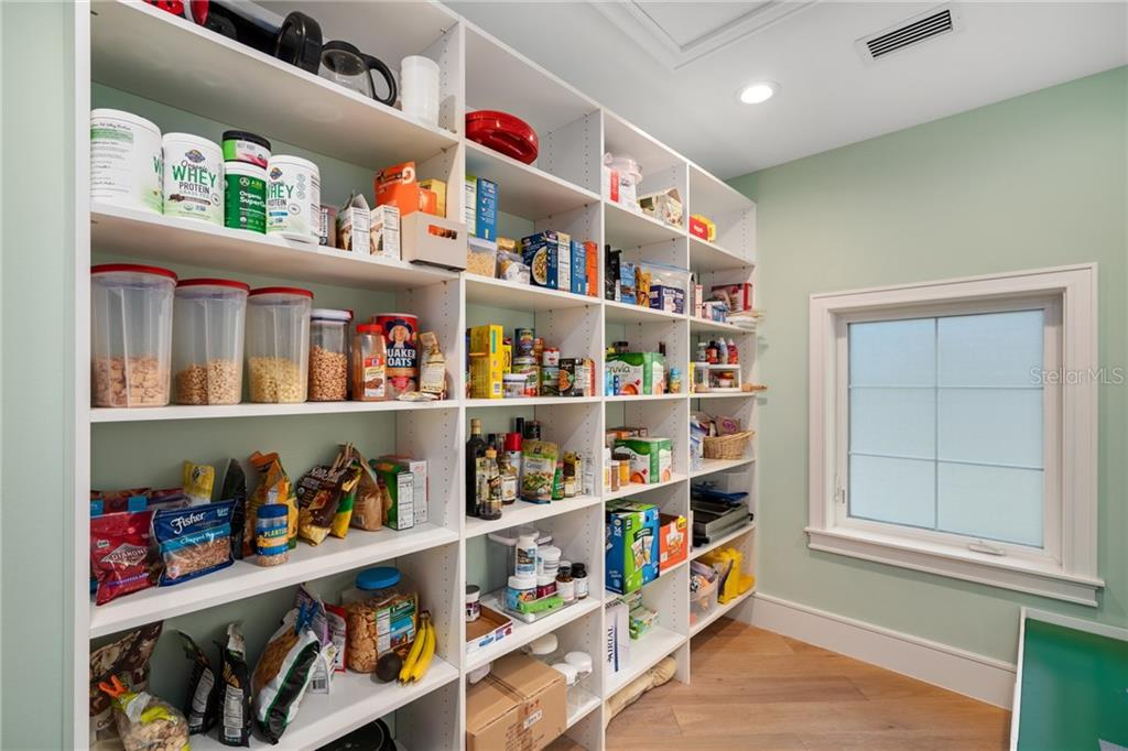 Walk in Pantry - Single Family Home for sale at 1545 Mallard Ln, Sarasota, FL 34239 - MLS Number is A4415376