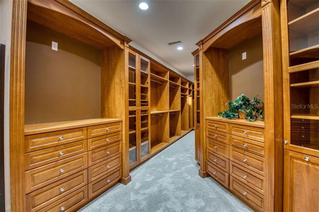 Master Closet - Single Family Home for sale at 19445 Ganton Ave, Bradenton, FL 34202 - MLS Number is A4419344