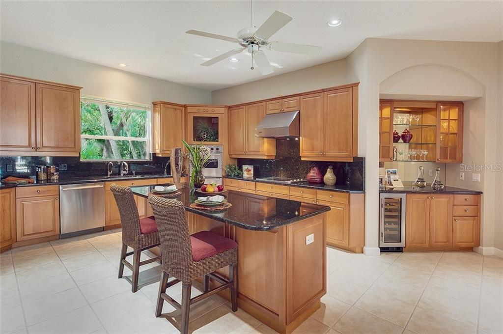Great space in this kitchen! - Single Family Home for sale at 2972 Jeff Myers Cir, Sarasota, FL 34240 - MLS Number is A4424133