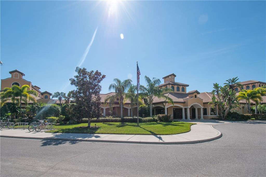 Community center with amenities - Villa for sale at 1808 Batello Dr, Venice, FL 34292 - MLS Number is A4426491