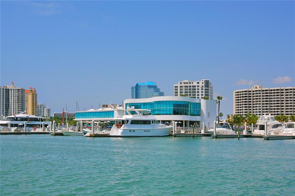 Marina Jack offers incredible dining, entertainment and, of course, a wonderfully convenient place to keep your boat! - Condo for sale at 128 Golden Gate Pt #902a, Sarasota, FL 34236 - MLS Number is A4433296