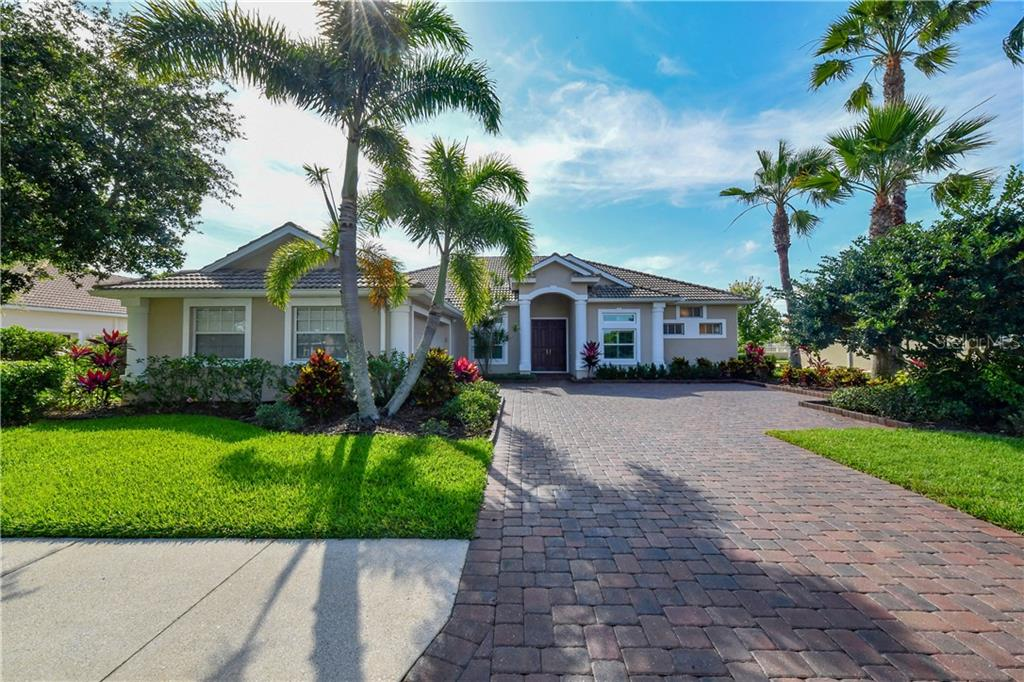 Spacious paver driveway just sealed! - Single Family Home for sale at 2745 Harvest Dr, Sarasota, FL 34240 - MLS Number is A4436381