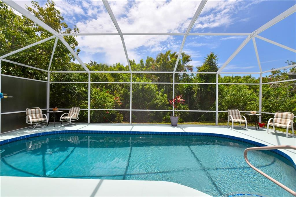 Attention to detail-All replaced items in 2018- Pool resurfaced, Filtration system, pool pump, pool light and entire screen cage! - Single Family Home for sale at 4074 Via Mirada, Sarasota, FL 34238 - MLS Number is A4439141