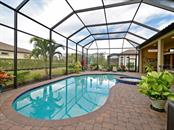 This lovely lovely pool and spa and pavers were added after closing! The outside area is built for entertaining! Fences Allowed.... - Single Family Home for sale at 13707 Palazzo Ter, Bradenton, FL 34211 - MLS Number is A4427731
