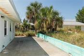 Patio on the Beach side - Single Family Home for sale at 755 N Shore Dr, Anna Maria, FL 34216 - MLS Number is A4436711