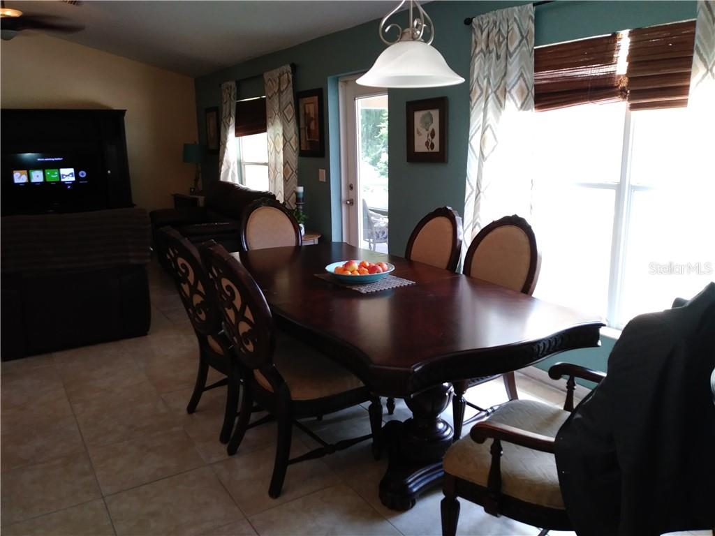 Lacroix Ave North Port FL MLS N - Family table north port