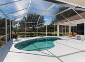 Pool, lanai - Single Family Home for sale at 2201 Sonoma Dr E, Nokomis, FL 34275 - MLS Number is N6103410